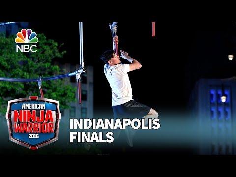 Ian Dory at the Indianapolis Finals - American Ninja Warrior 2016