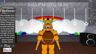 HOW TO GET DAB BEAR (secret character 9th) roblox fredbear and friends