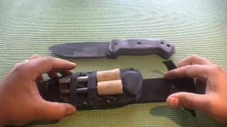 Kabar Becker Bk2 Knife Review And Modifications - Bushcraft
