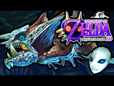 The Legend of Zelda Majora's Mask 3DS Gameplay Walkthrough GYORG Boss Fight Great Bay Temple PART 20