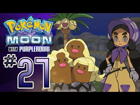 Let's Play Pokemon: Sun and Moon - Part 27 - Island Kahuna Hapu's Grand Trial!