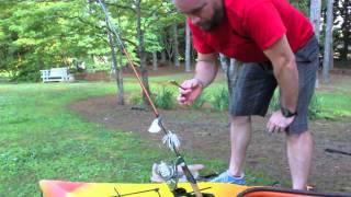 Diy - Installing Kayak Fishing Rod Holders - Woods N Water With Georgia Outdoorsman