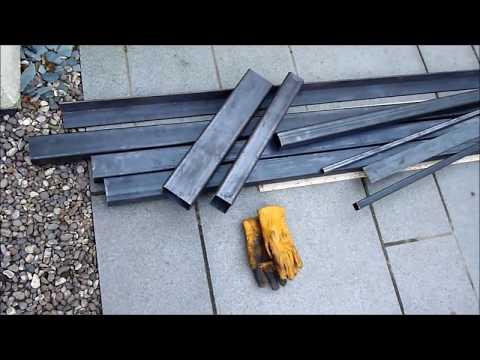 BUILDING A HOMEMADE BANDSAW MILL......U.K.