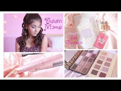 autumn-makeup-{auburn-pink-smokey-eyes}