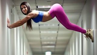 Sexy Babes Fitness Jen Selter - Butt Workout Videos