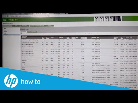 Calculate Your Printing Costs Accurately with the Embedded Web Server | HP Latex | HP