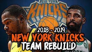 DALLAS MAVERICKS RUIN THE NEW YORK KNICKS REBUILD! | New York Knicks Rebuild #1