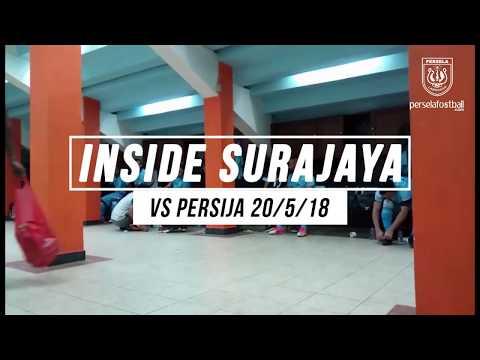 INSIDE SURAJAYA : PERSELA 2 - 0 PERSIJA JAKARTA | EXCLUSIVE