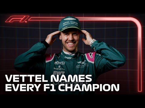 Sebastian Vettel Names EVERY F1 Champion in Grill The Grid!