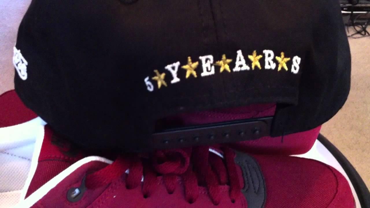 e71698ff148d NIKE Air Max 1 - Team Red   Velvet Brown   White colorway   Sneaker Bistro  5 year anniv. snapback