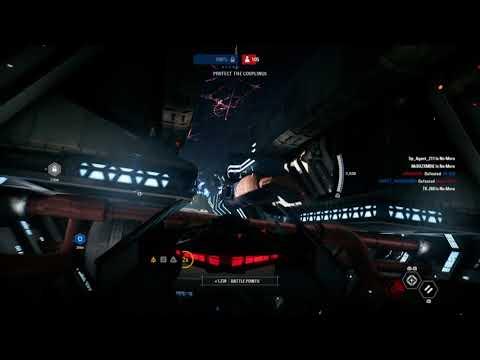 STAR WARS™ Battlefront™ II.  Kylo Ren's Tie Silencer & Darth Vader's Tie Advance