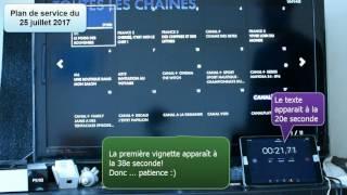CanalSat : 1er démarrage + accès Enregistrements + accès à la Mosaïque (plan de service 25 juillet)