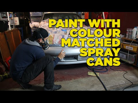 How To Paint Your Car with Colour Matched Spray Cans