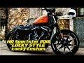 Harley Davidson Sportster 2018 LUCKY STYLE Lucky Custom LA#66