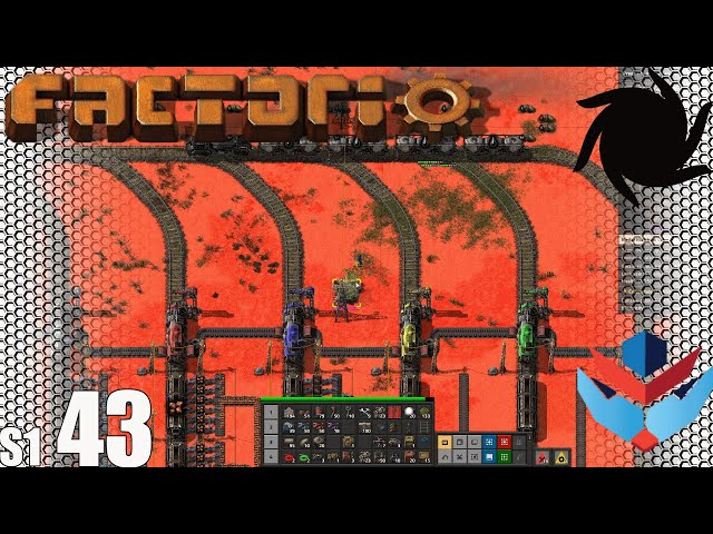 Factorio MP with NOG - S01E43 - The Biters Are Getting Through