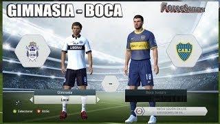 FIFA 14 | Modo Manager | Gimnasia - Boca | Torneo Inicial | Gameplay