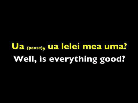 Samoan Language  101-A Introductions