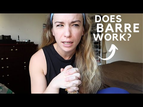 DOES BARRE WORK? | brutally honest opinion