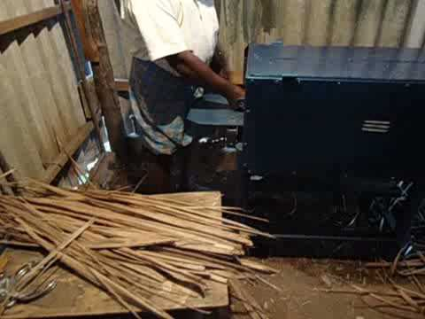Coconut Broom Stick Maker - Amazing innovation