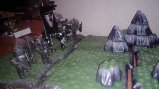 Лего война рыцарей ( магический жезл )