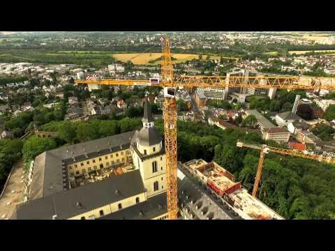 Michaelsberg Siegburg - während der Umbauphase (Juli 2015) - Teil 1