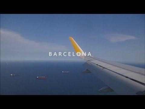 BARCELONA TRAVEL VLOG 2017