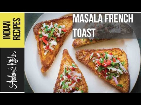 Masala French Toast - Continental Breakfast Recipes By Archana's Kitchen