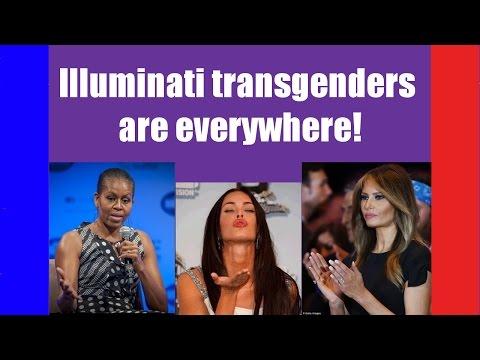 Illuminati transgenders are EVERYWHERE! (harder to accept than Flat Earth?)