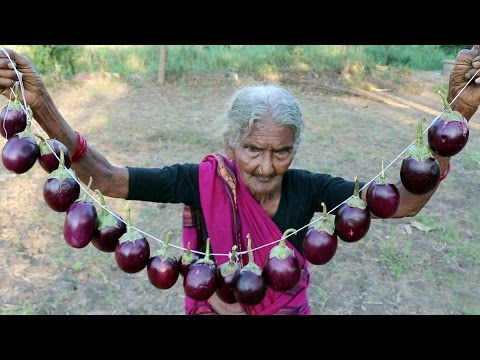 Thumbnail: Yummy Brinjal Masala Recipe || Spicy Gutti Vankaya Curry By My Granny's