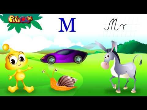 ALFABETUL - sa invatam alfabetul amuzandu-ne!
