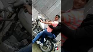 Bullet 350 Ride in wall of death