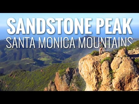 Sandstone Peak- Santa Monica Mountains| 4K