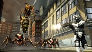 First 30 Minutes: Earth Defense Force: Insect Armageddon [XBOX360/PS3] (720p HD) Part 1/2