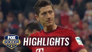 Robert Lewandowski vs. Wolfsburg: All Touches - 2015–16 Bundesliga Highlights