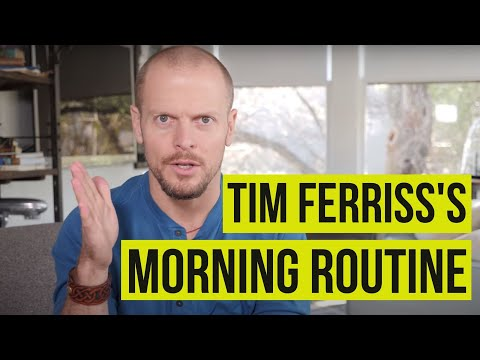 How to Create a Better Morning Routine | Tim Ferriss