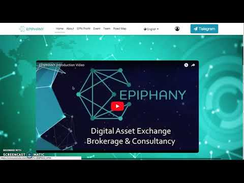 *MAJOR ALL IN ONE EXCHANGE: EPIPHANY - Arbitrage, ASSETS and Security ALL IN ONE PLACE - FREE COINS*