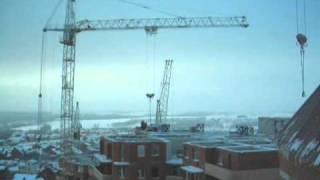 Башенные краны 2(Башенные краны КБ-401П и КБ-405 на строительстве 13-го микрорайона г. Железногорска. То же место, только спустя..., 2011-01-16T14:49:57.000Z)