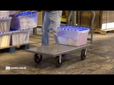 Akro-Mils Steel Platform Trucks