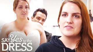 Bride Worries That George Will Change Her Perfect Dress | Say Yes To The Dress: Wedding SOS
