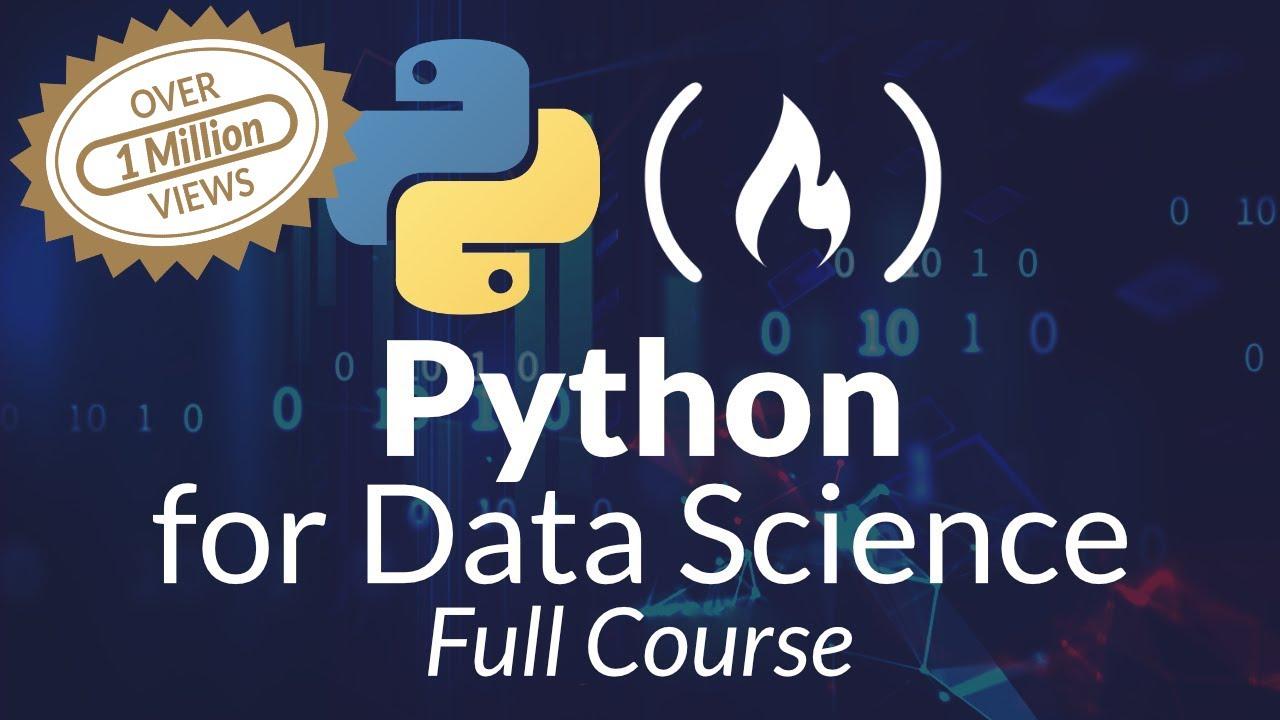 Python for Data Science - Learn Python, Pandas, NumPy, Matplotlib