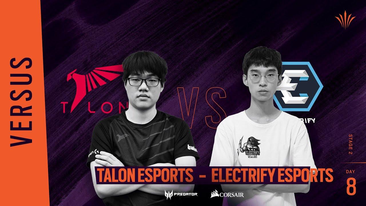 Talon Esports vs Electrify // Rainbow Six APAC North Division 2020 - Stage 2 - Playday #8