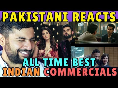 Pakistani Reacts to Top Indian Commercials of All Time