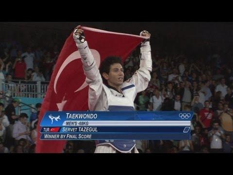 Men's Taekwondo -68kg Gold Medal Final - Turkey v Iran   London 2012 Olympics