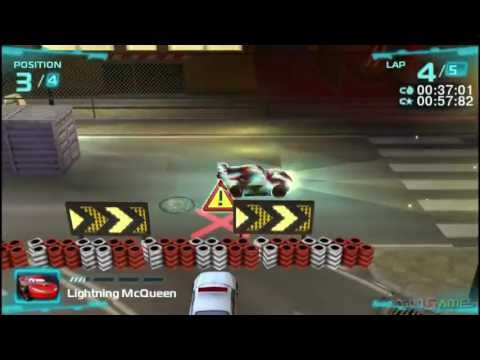 Cars 2 - Gameplay PSP HD 720P (Playstation Portable)