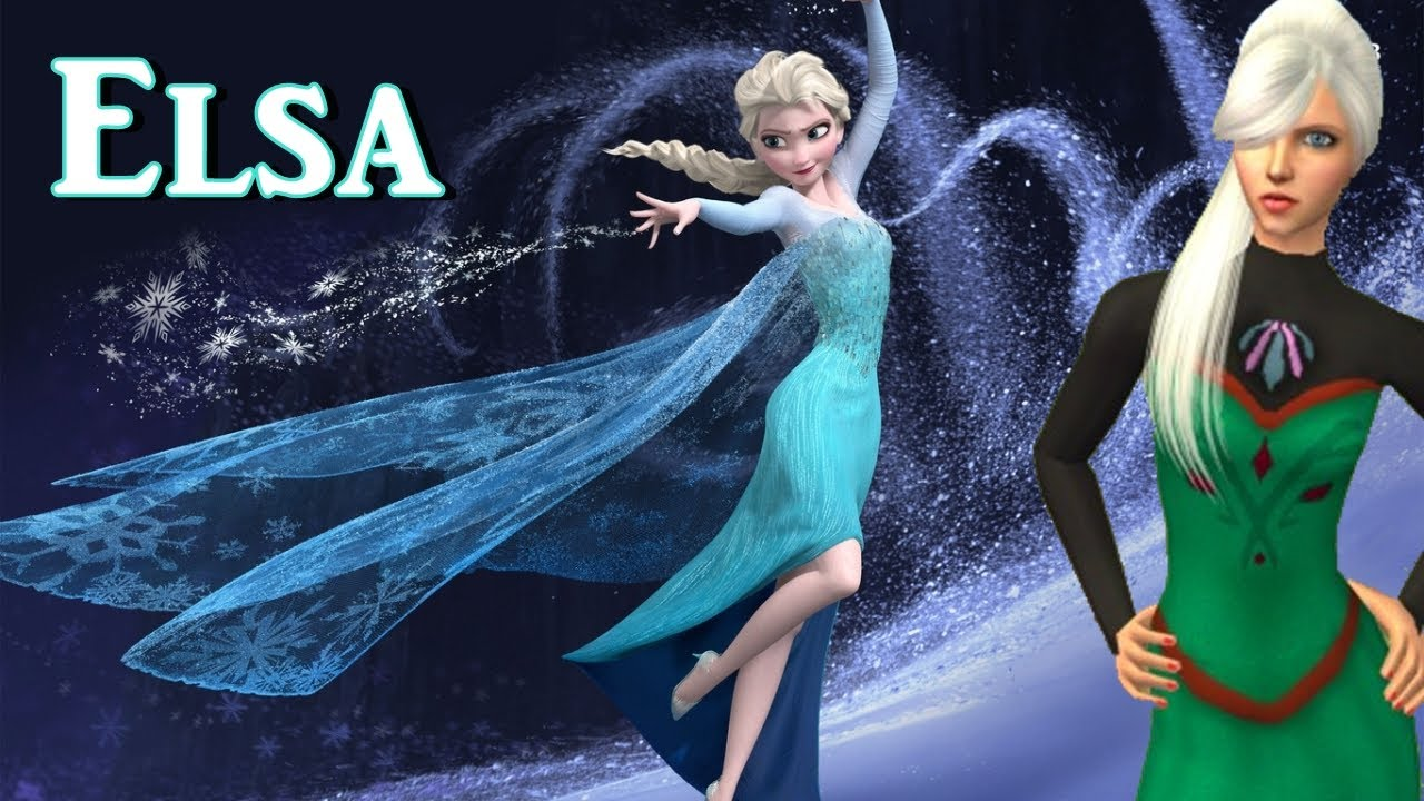 Sims 2 CreateASim Elsa From Frozen YouTube