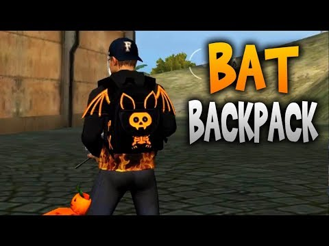 THE NEW BAT BACKPACK | FREE FIRE🔥