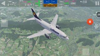 Aerofly FS1 - 737-500 Takeoff Thru Mountains