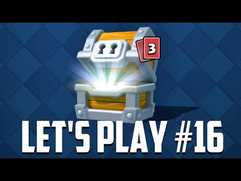 Let's Play Clash Royale Ep. #16: Giant Chest Opening!