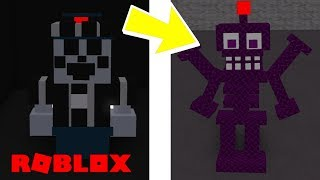 Finding All Secret Animatronic Badges in Roblox FNAF United