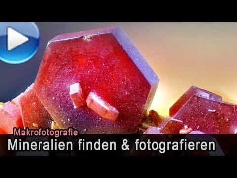 Mineralien Finden & Fotografieren - Makrofotografie